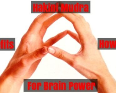 Hakini Mudra For Brain Power
