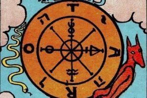 wheel of fortune tarot card