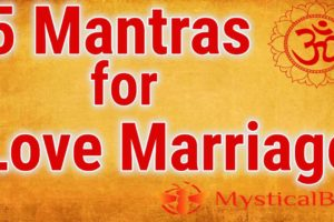 5 Mantras for Love Marriage